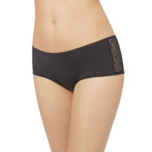Le Mystere Perfect Pair Panties - Boy Shorts (For Women) in Black - Closeouts