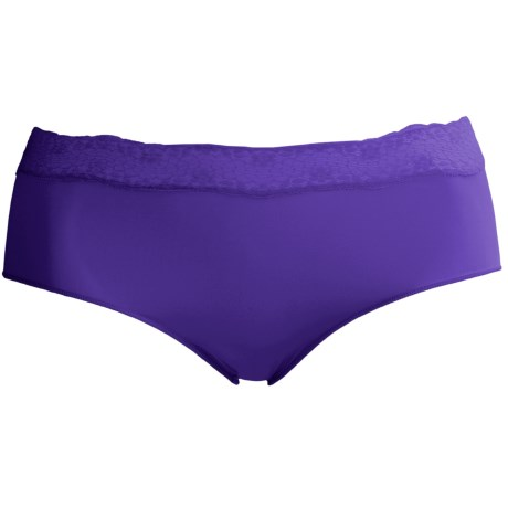 Le Mystere Perfect Pair Underwear - High Waist Brief Panties (For Women) in Indigo