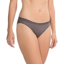 Le Mystere Safari Panties - Bikini Briefs (For Women) in Slate - Closeouts