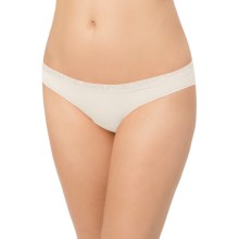 Le Mystere Safari Smoother Bikini Panties - Microfiber (For Women) in Antique Ivory - Closeouts