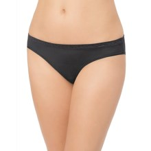 Le Mystere Safari Smoother Bikini Panties - Microfiber (For Women) in Black - Closeouts