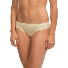 Le Mystere Safari Smoother Bikini Panties - Microfiber (For Women) in Butter - Closeouts