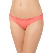 Le Mystere Safari Smoother Bikini Panties - Microfiber (For Women) in Calypso - Closeouts