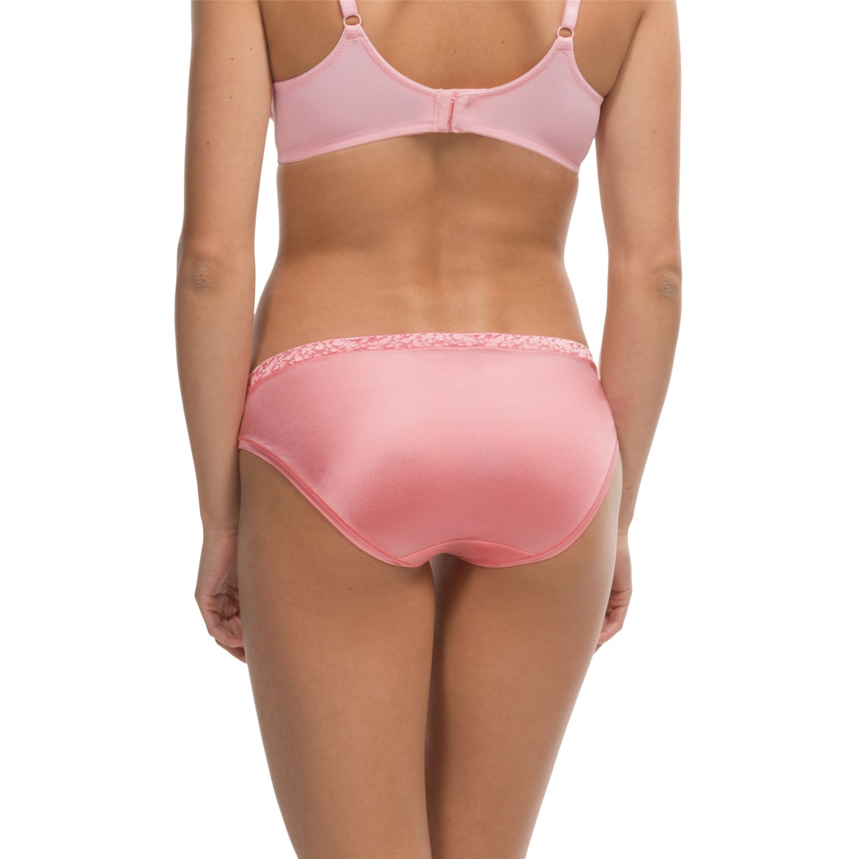 Head toe microfiber bikini womens panties black belle would
