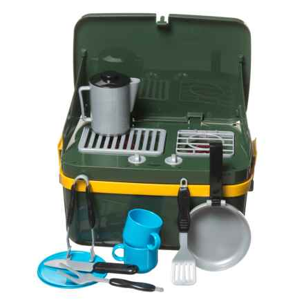 Learning Resources Grill-and-Go Camp Stove Set in Olive - Closeouts