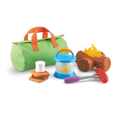 Learning Resources New Sprouts® Camp Out! Play Camp Set in Lime Green/Multi