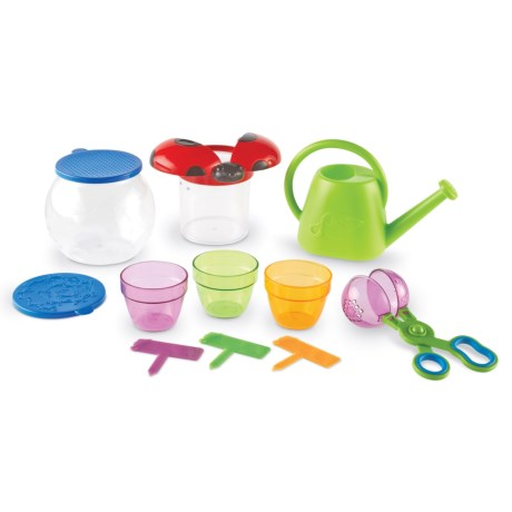 Learning Resources Primary Science Outdoor Discovery Set - 22-Piece in Lime Green/Multi