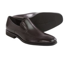 Leather Loafers - Slip-Ons (For Men) in Dark Brown Nappa - Closeouts