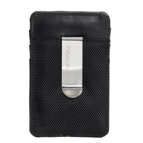 Leather RFID Money Clip