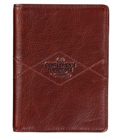 Image of Leather Travel Wallet - RFID (For Men)