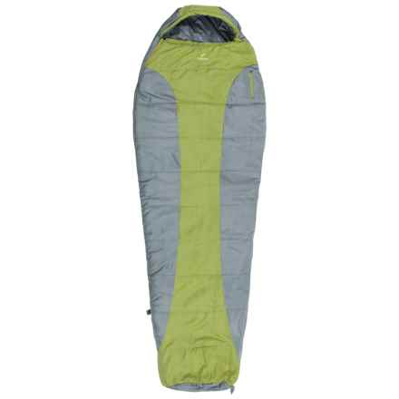 Ledge 20°F Featherlite Sleeping Bag - Mummy in Green - Closeouts