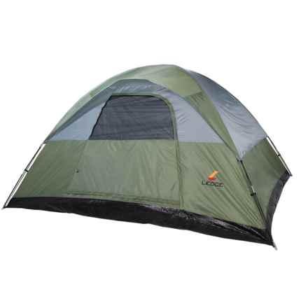 Ledge Ridge 8 Tent - 8-Person, 3-Season in Green - Closeouts