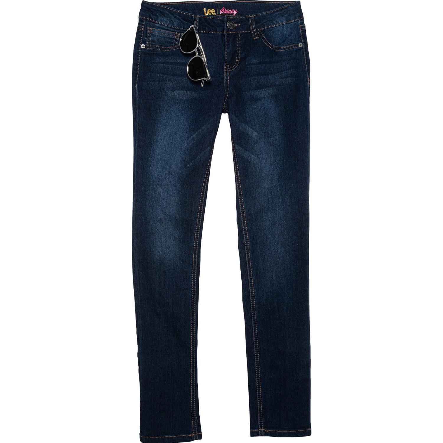 Super Stretch Fashion Jeans with Studs Juniors Girls Jeans LEE Skinny Jeans for Teen Girls