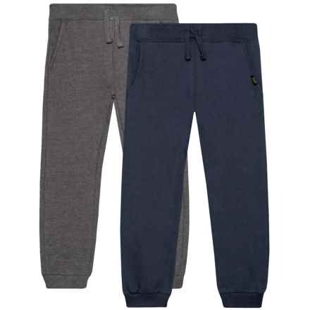 Lee Fleece Joggers - 2-Pack (For Toddlers) in Navy - Closeouts