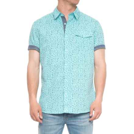 Lee Hippy Co Shirt - S/S (For Men) in Pool Blue - Overstock