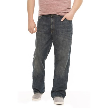 Lee Modern Series Jeans - Relaxed Fit, Straight Leg (For Big and Tall Men) in Santiago