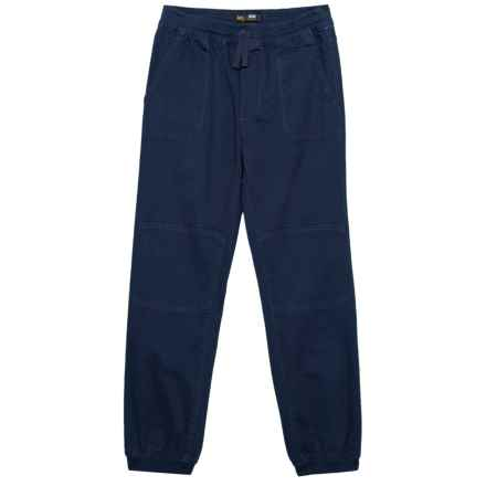 Lee Moto Stretch Joggers (For Big Boys) in Navy - Closeouts