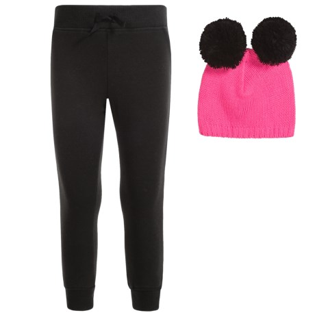 Lee Pull-On Pants and Hat Set (For Little Girls)