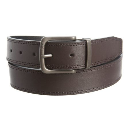 Lee Reversible Double-Stitched Belt (For Men) in Brown/Black