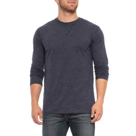 Lee Shepherd Crew Neck Shirt - Long Sleeve (For Men) in Navy - Closeouts