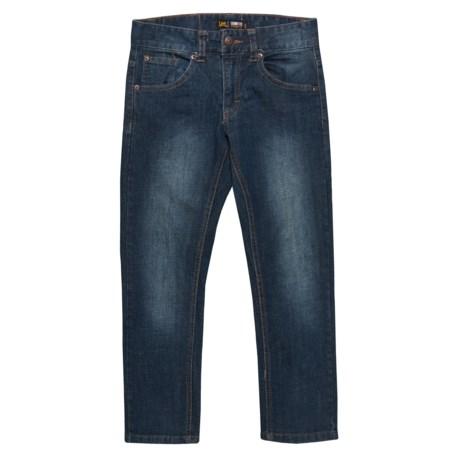 Lee Skinny Fit Stretch Jeans (For Big Boys) in Galaxy