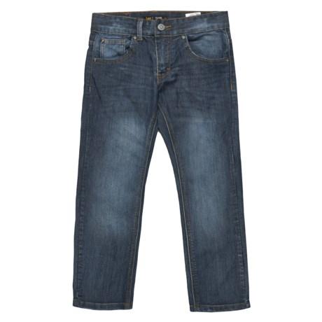 Lee Slim Fit Stretch Denim Pants (For Big Boys) in Medium Vintage