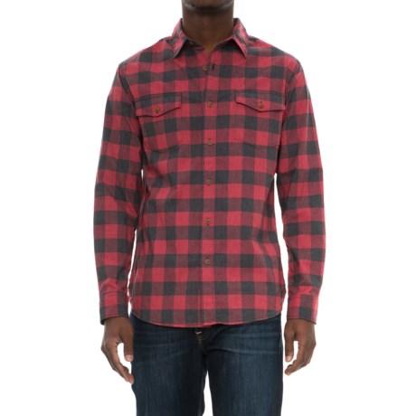 Lee Star Shirt - Long Sleeve (For Men) in Biking Red