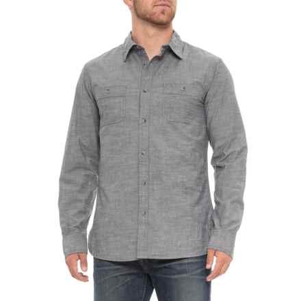 81f890d19b Lee Stark Shirt - Long Sleeve (For Men) in Black - Overstock