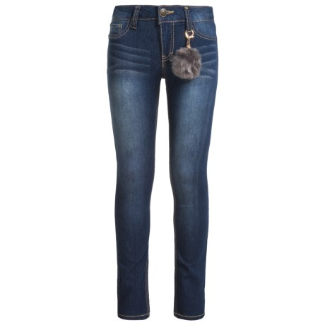 Lee Stretch Skinny Jeans (For Big Girls) in Blueberry Cream