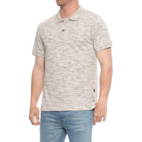 Lee Trek Polo Shirt - S/S (For Men) in Ivory