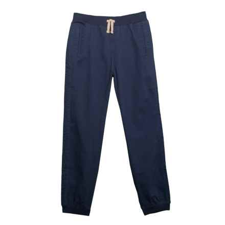 Lee Twill Joggers (For Big Boys) in Navy - Closeouts