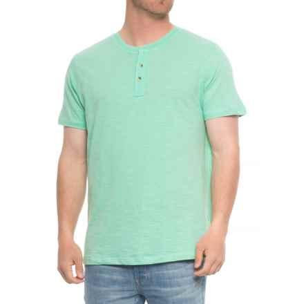 Lee Weekender Core Slub Henley Shirt - S/S (For Men) in Teadust - Overstock