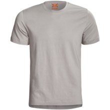 Left Coast Tee Trim Fitted T-Shirt - Stretch Pima Cotton, Short Sleeve (For Men) in Pearl - Closeouts