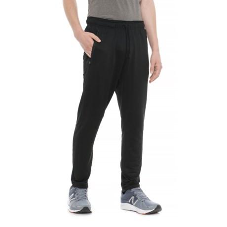 Leg3nd Space-Dye Dark Running Pants (For Men) in Black (Solid)