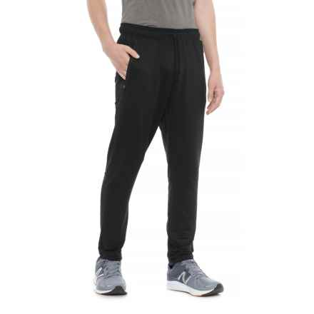 Leg3nd Space-Dye Running Pants (For Men) in Black (Solid) - Closeouts