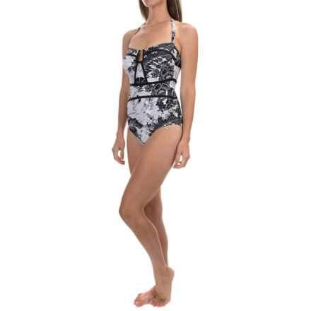 Leilani Printed One-Piece Swimsuit (For Women) in Antigua - Closeouts