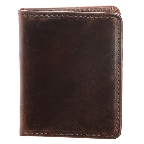 Lejon Bifold Leather Wallet (For Men) in Brown