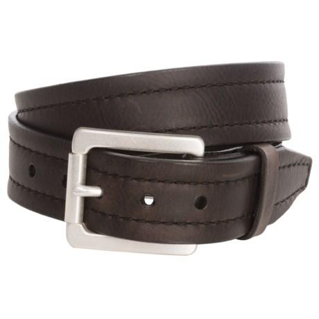 Lejon Parker Bison Leather Belt (For Men)