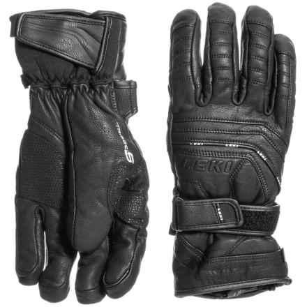 LEKI Fuse S Touch PrimaLoft® Gloves - Insulated (For Men and Women) in Black - Closeouts