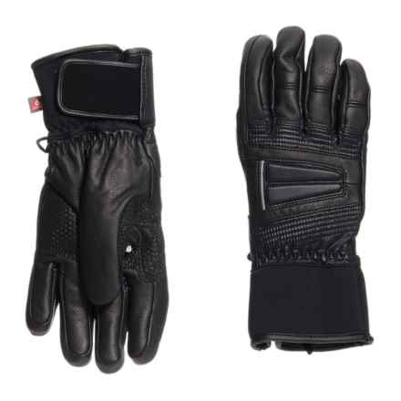 LEKI Griffin S Lady PrimaLoft® Gloves - Leather, Insulated (For Women) in Black/Black - Closeouts