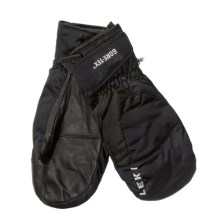 LEKI HS Active EX Gore-Tex® Ski Mittens - Waterproof, Insulated (For Men and Women) in Black - Closeouts