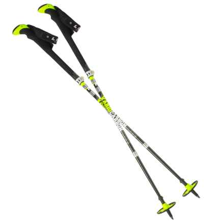 LEKI Micro Tourstick Vario Carbon Trekking Poles in See Photo - Closeouts