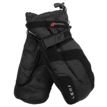 LEKI Miracle Mitt S Ski Mitten - Waterproof, Insulated (For Men and Women) in Black/Dark Navy - Closeouts