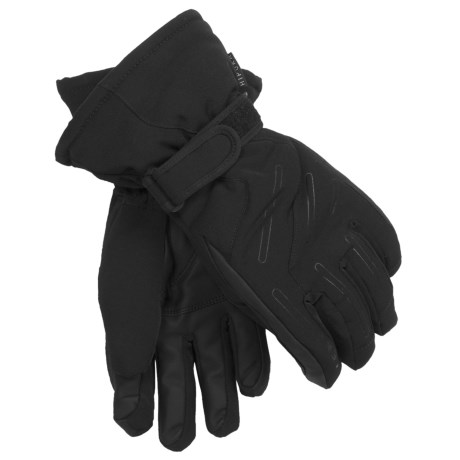 LEKI Pegasus S Ski Gloves - Waterproof, Insulated (For Women) in Black