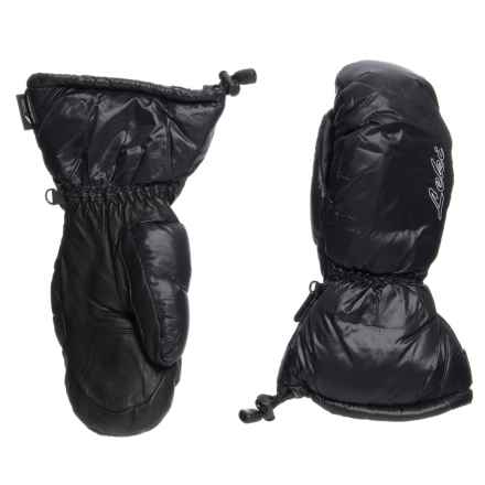 LEKI St. Moritz Lady PrimaLoft® Mittens - Waterproof, Insulated (For Women) in Black - Closeouts