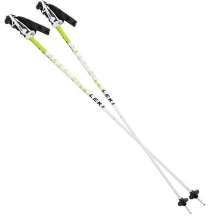 LEKI Thunderbolt Fixed Length Ski Poles in See Photo - Closeouts