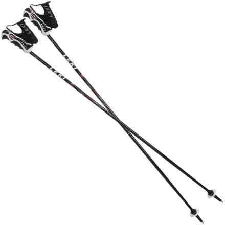 LEKI Trigger Series Speed S Ski Poles - Fixed Length in Black - 2nds
