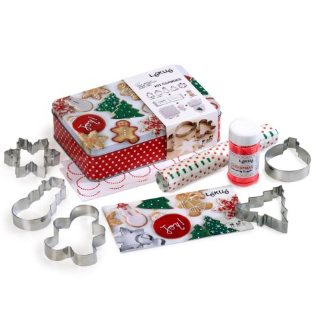 Lekue Christmas Cookie Kit in See Photo