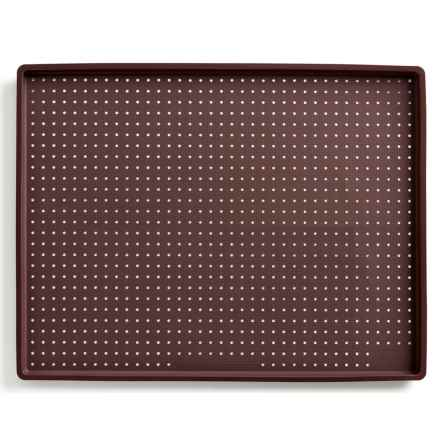 Lekue Silicone Rectangular Pizza/Baking Mat in Brown - Closeouts