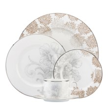Lenox Floral Patina Place Setting - 5-Piece, Bone China in See Photo - Closeouts